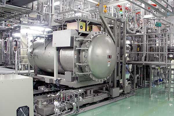 A big machine known as an E-Beam machine.