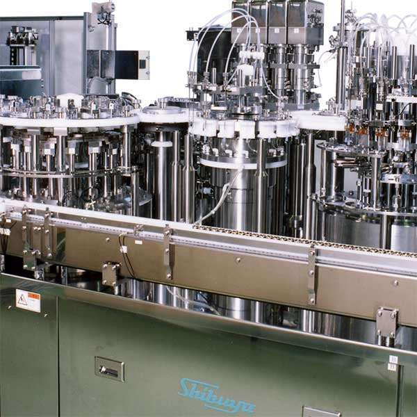 A stock image of a syringe filling line.