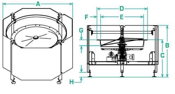 FS-50-RD scallop dimensions