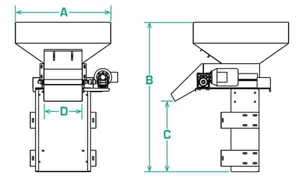 LB-03 LB-06 Overhead Dimensions