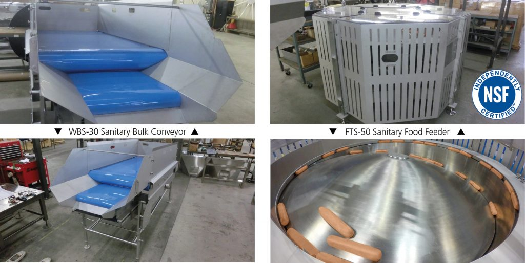 Sanitary Food Centrifugal Feeder and Conveyor
