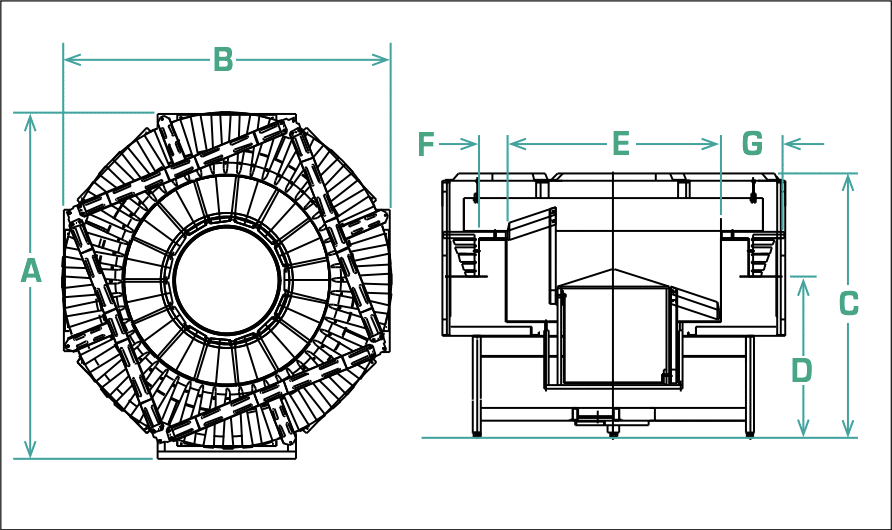 FRS-60 Centrifugal Feeder Specifications