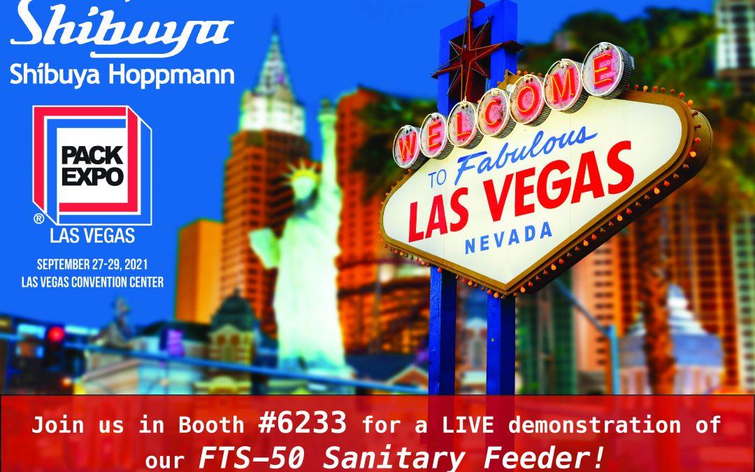 Pack Expo Last Vegas 2021 Shibuya Hoppmann Booth 6233